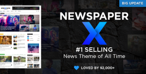 Newspaper Premium Theme 10.4 Updated Version
